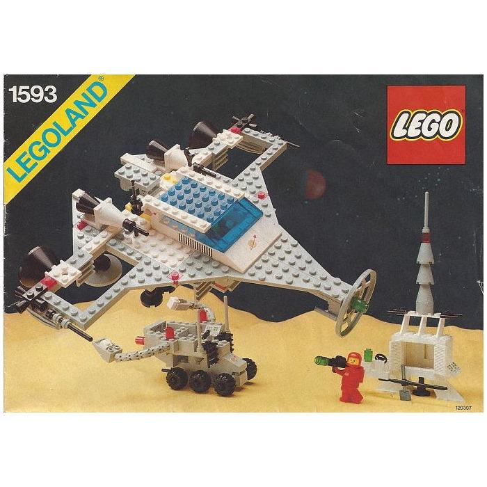 Lego Super Model Building Instructions Set 1593 Brick Owl Lego