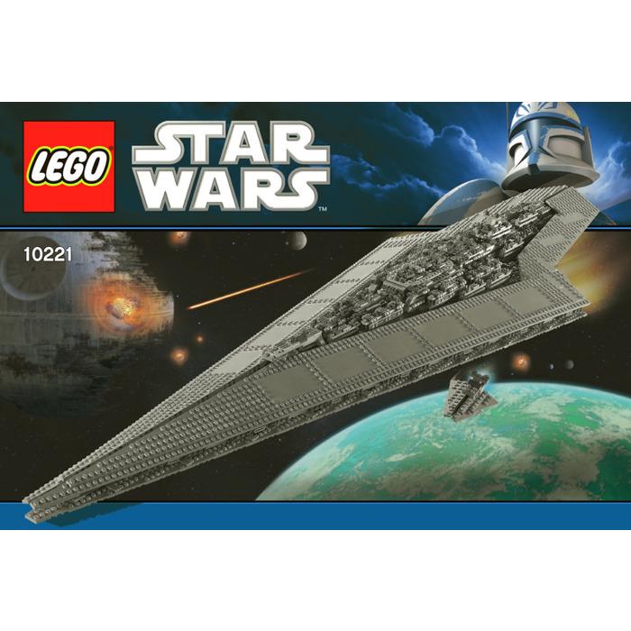 Lego Super Star Destroyer Set 10221 Instructions Brick Owl Lego