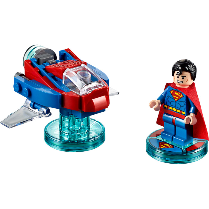 how to make lego superman
