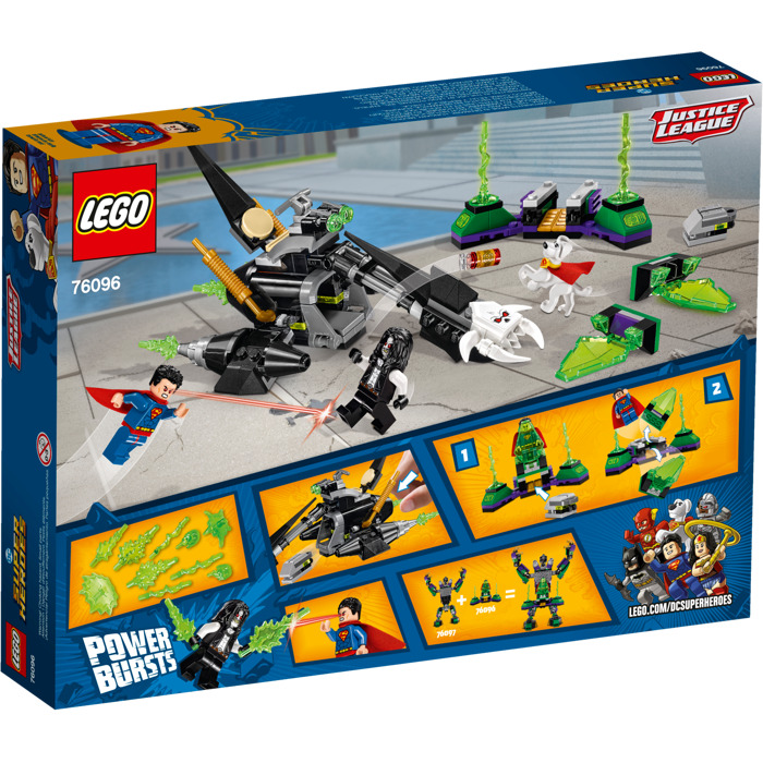 LEGO Superman & Krypto Team-Up Set 76096 | Brick Owl - LEGO ...