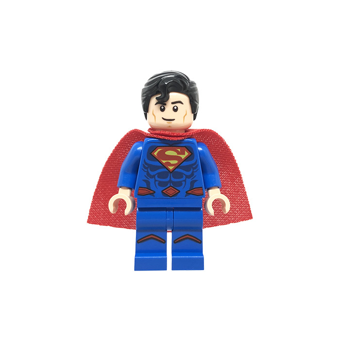 Marvel Superman Lego Mini Figure Superman Bleu Foncé Costume 76002 76003 76009 2013