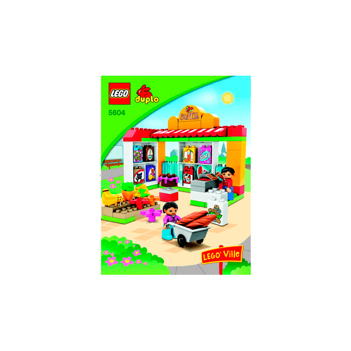 Lego Supermarket Set 5604 Instructions Brick Owl Lego Marketplace