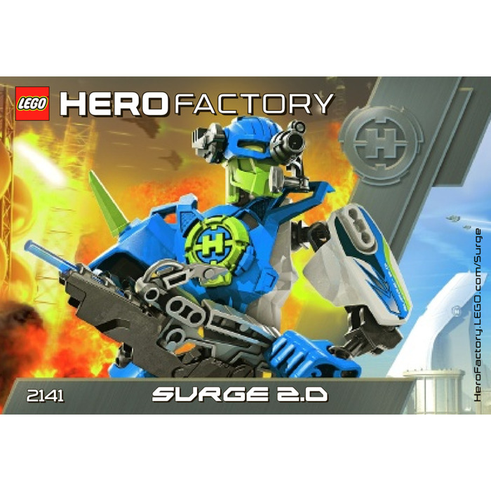 surge hero factory instructions