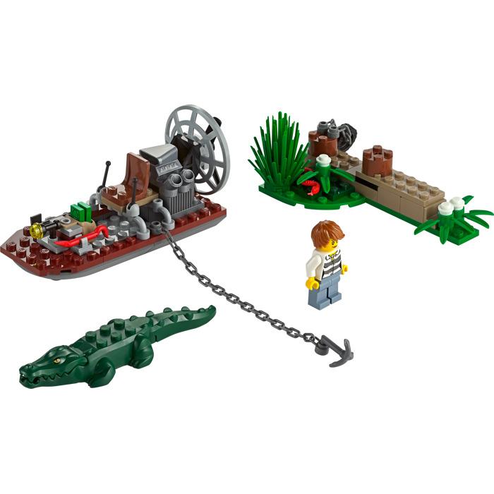 lego swamp police station set 60069 brick owl lego. Black Bedroom Furniture Sets. Home Design Ideas