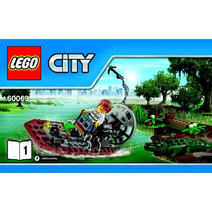 Lego Swamp Police Station Set 60069 Instructions Brick Owl Lego