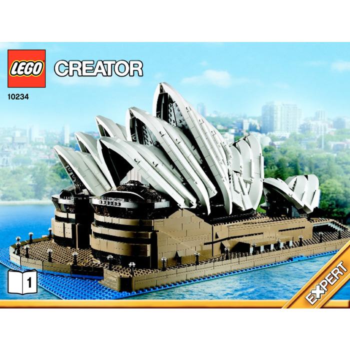 Lego Sydney Opera House Set 10234 Instructions Brick Owl Lego
