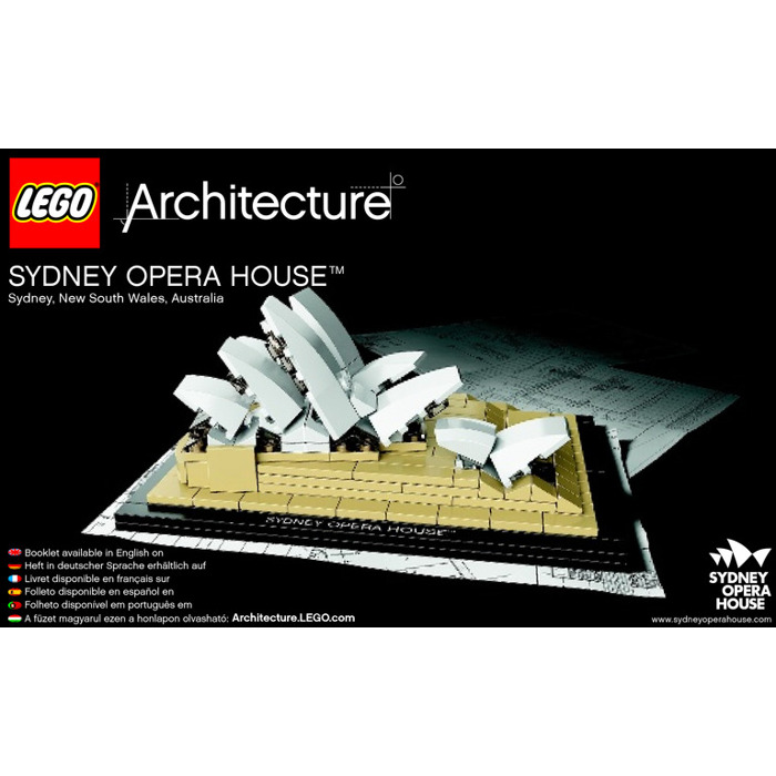 Lego Sydney Opera House Set 21012 Instructions Brick Owl Lego