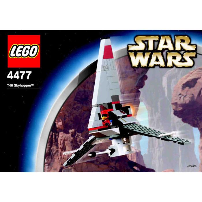 Lego T 16 Skyhopper Set 4477 Instructions Brick Owl Lego Marketplace
