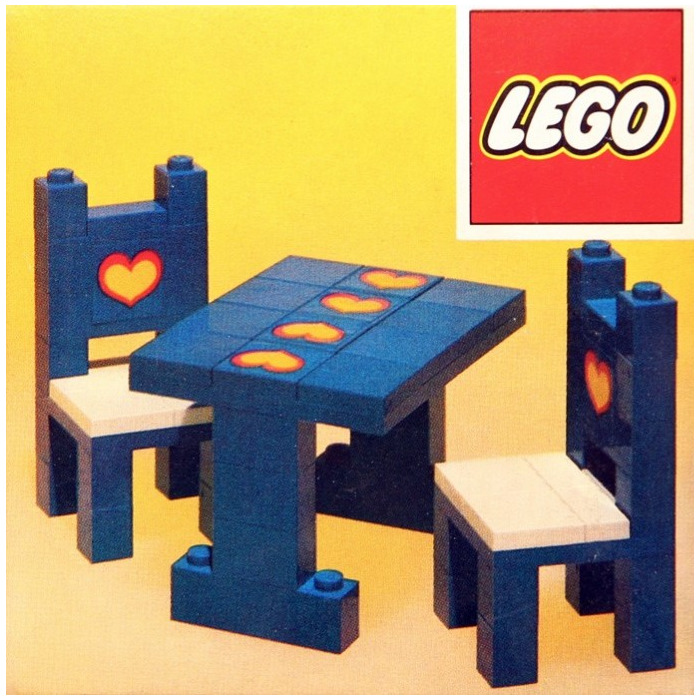 Lego Table And Chairs Set 275 Brick Owl Lego Marketplace