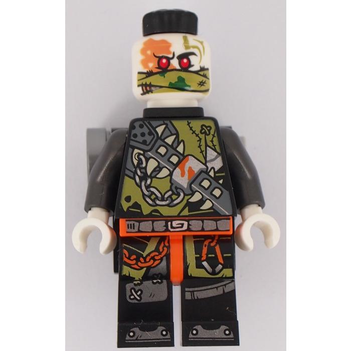LEGO Ninjago Chopper Maroon Minifigure /& Black Skateboard 70643