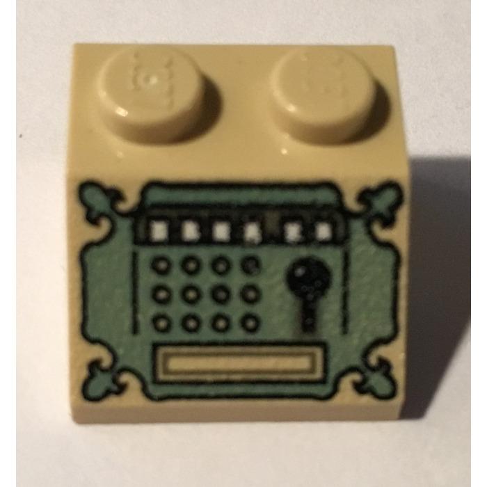 LEGO® Tan Slope 45 2 x 2 Design ID 3039