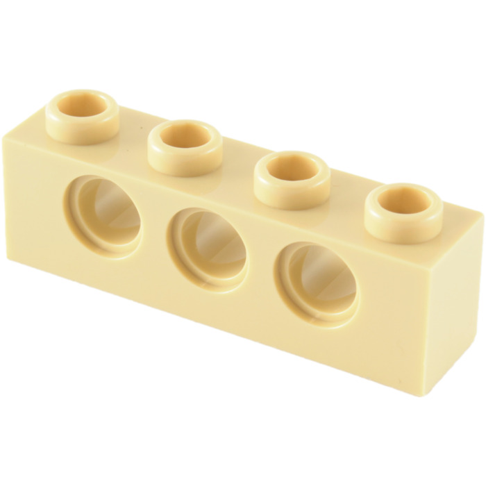 Lego 10x Technic Tan Brick 1x4 NEW!!! 3701