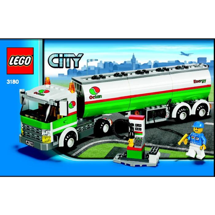 Lego Tank Truck Set 3180 Instructions Brick Owl Lego Marketplace