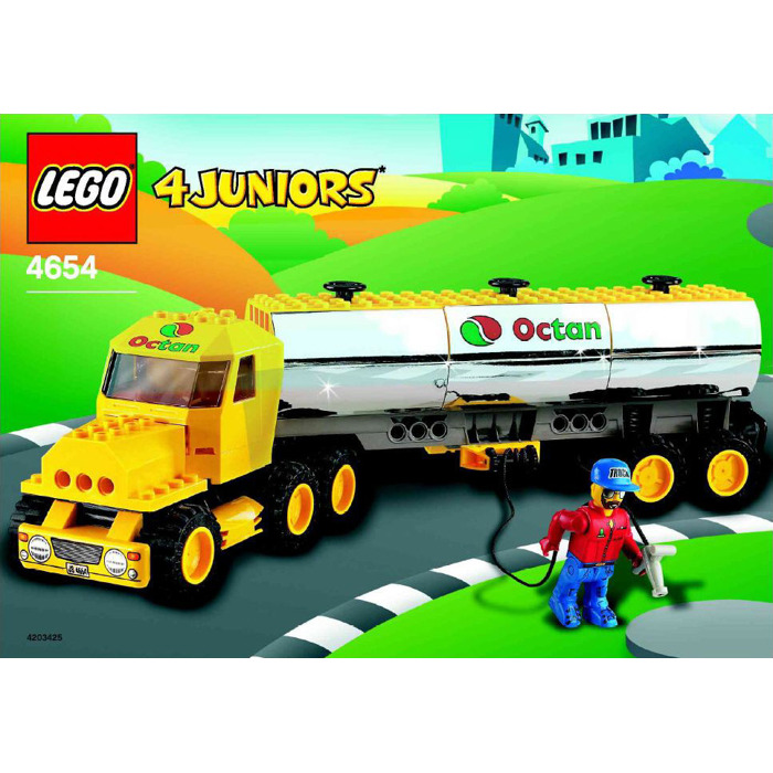 Lego Tanker Truck Set 4654 Instructions Brick Owl Lego Marketplace