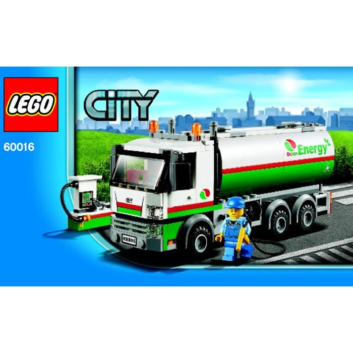 Lego Tanker Truck Set 60016 Instructions Brick Owl Lego Marketplace