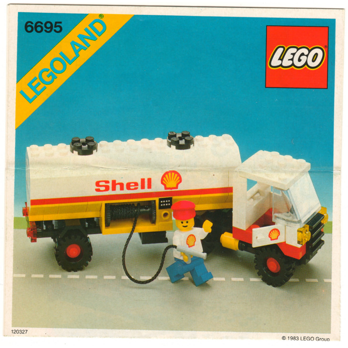Lego Tanker Truck Set 6695 Instructions Brick Owl Lego Marketplace