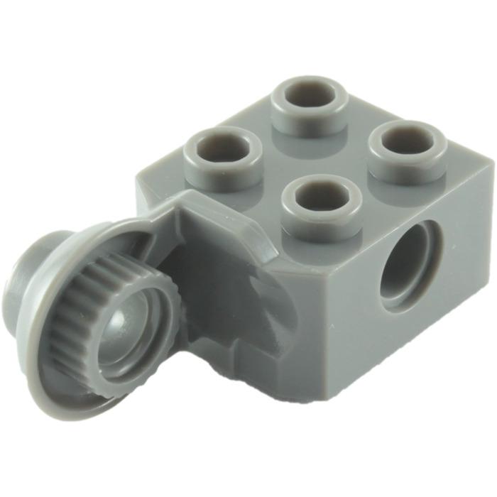 Lego Technic Brique Brick Rotation 2x2 48170 Dark Bluish Gray Choose Quantity