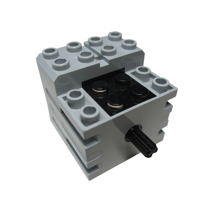 lego light gray small technic motor 28 grams comes in. Black Bedroom Furniture Sets. Home Design Ideas
