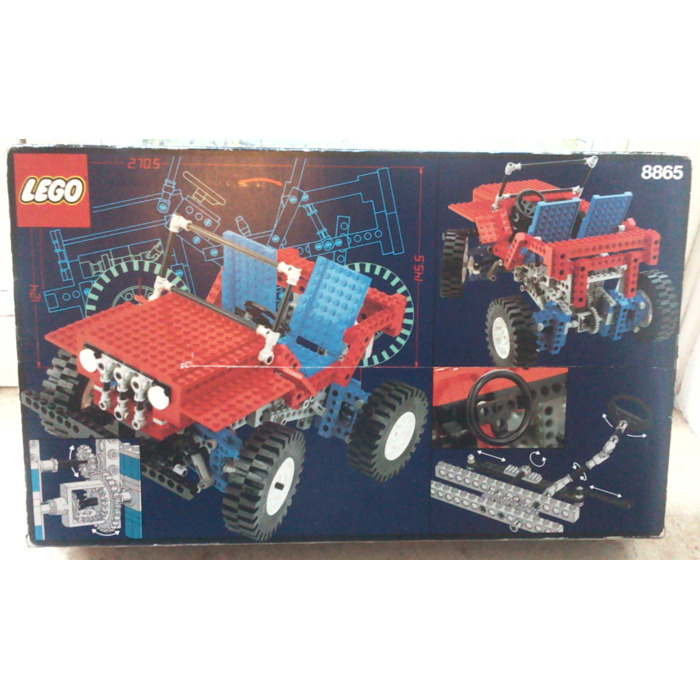 lego test car set 8865 packaging brick owl lego. Black Bedroom Furniture Sets. Home Design Ideas