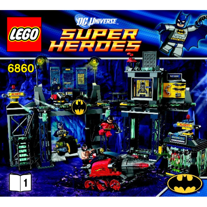 LEGO The Batcave Set 6860 Instructions | Brick Owl - LEGO Marketplace