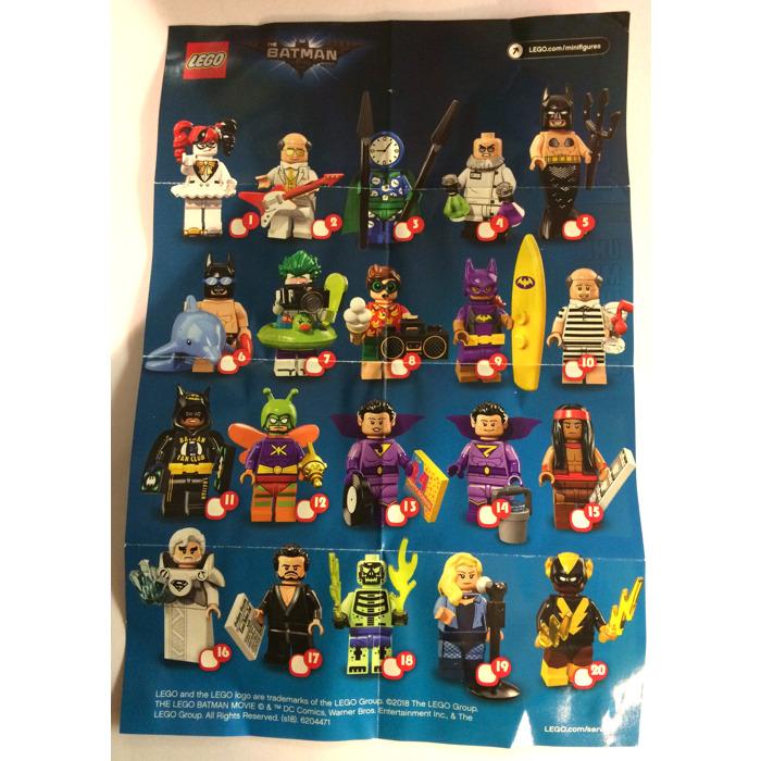 Lego The Batman Movie Series 2 Minifigures Random Bag Set 71020 0