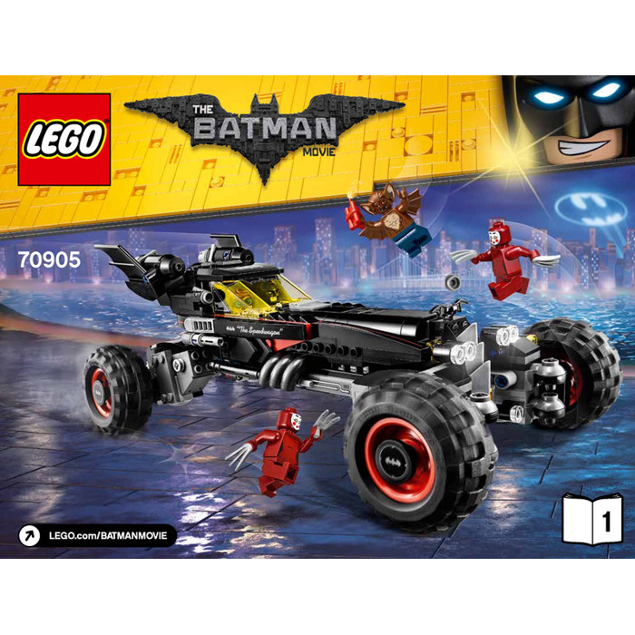 lego the batmobile set 70905 instructions brick owl. Black Bedroom Furniture Sets. Home Design Ideas