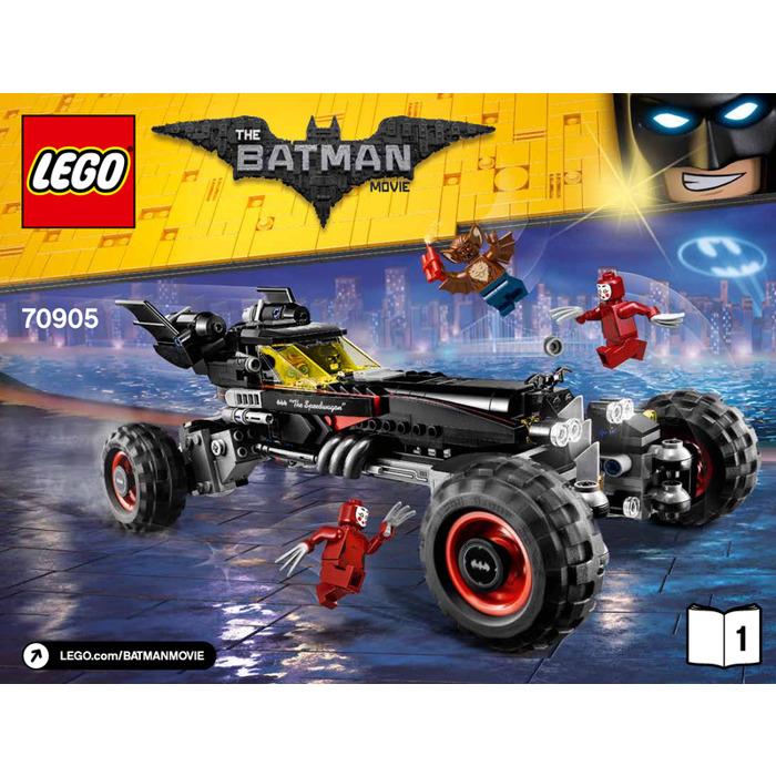 Lego The Batmobile Set 70905 Instructions Brick Owl Lego Marketplace