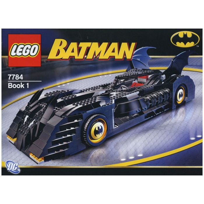 Lego The Batmobile Ultimate Collectors Edition Set 7784 Brick