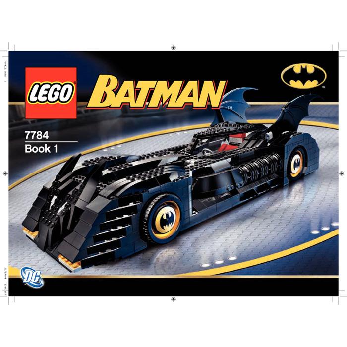 Lego The Batmobile Ultimate Collectors Edition Set 7784