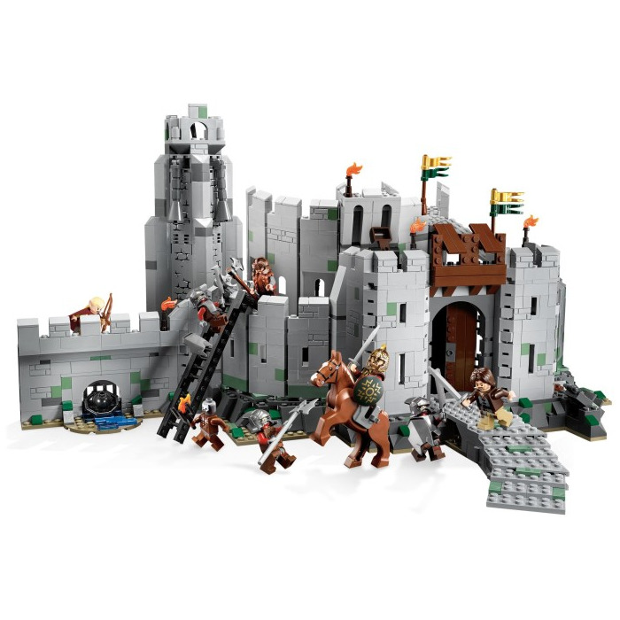 Lego Lord Of The Rings Battle Of Helm S Deep Instructions