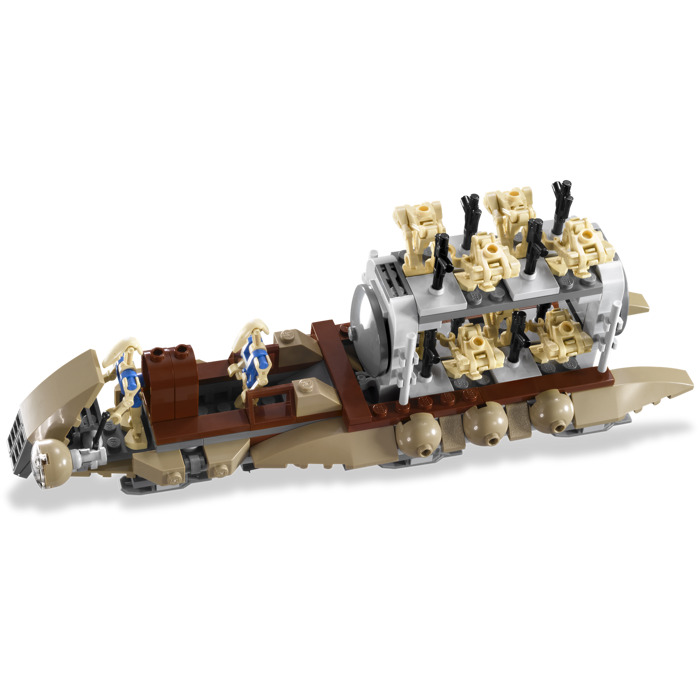 Lego the battle of naboo set 7929 1 brick owl lego for Siege lego france