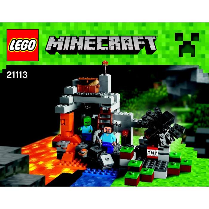 Lego The Cave Set 21113 Instructions Brick Owl Lego Marketplace