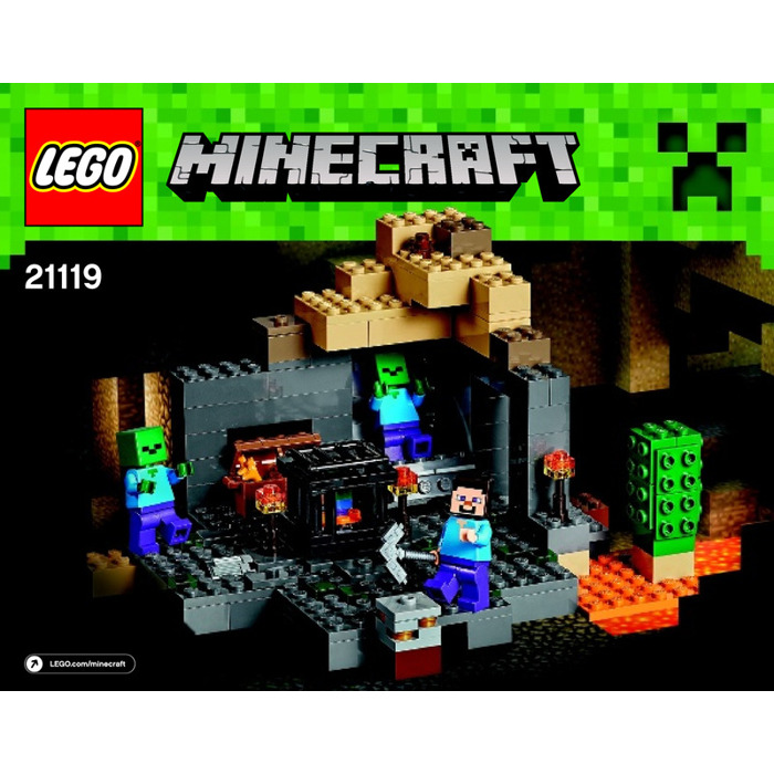 Lego The Dungeon Set 21119 Instructions Brick Owl Lego Marketplace