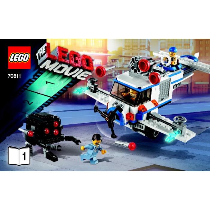 Lego The Flying Flusher Set 70811 Instructions Brick Owl Lego Marketplace