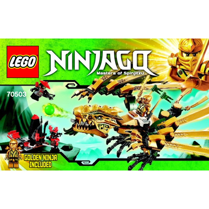 Lego The Golden Dragon Set 70503 Instructions Brick Owl Lego