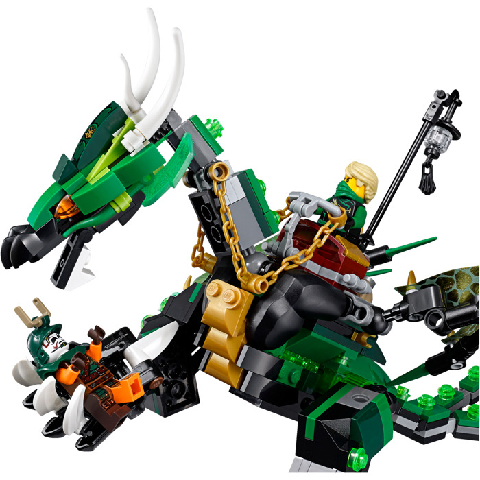 Lego the green nrg dragon set 70593 brick owl lego marketplace - Lego ninjago le grand devoreur ...