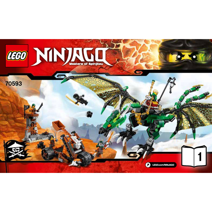 Lego The Green Nrg Dragon Set 70593 Instructions Brick Owl Lego