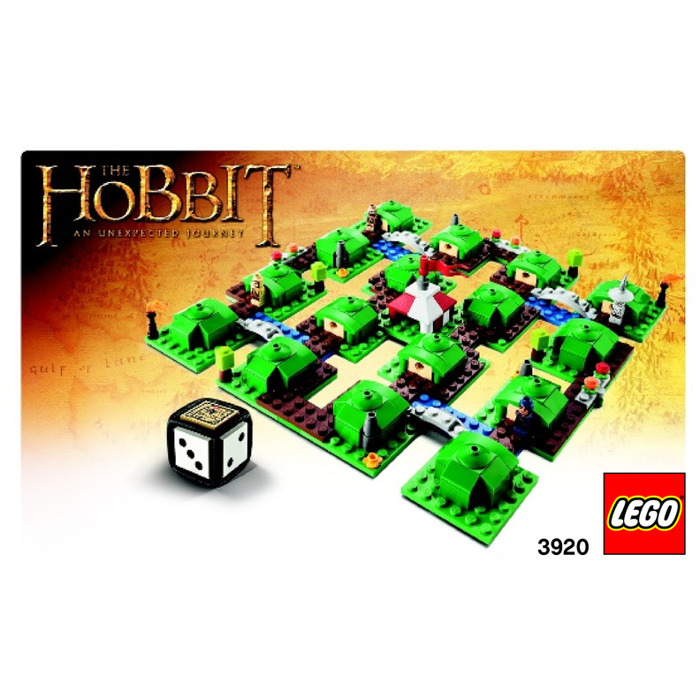 Lego The Hobbit An Unexpected Journey 3920 Instructions Brick
