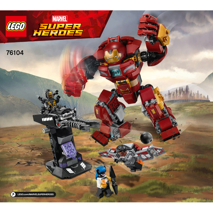 Lego The Hulkbuster Smash Up Set 76104 Instructions Brick Owl