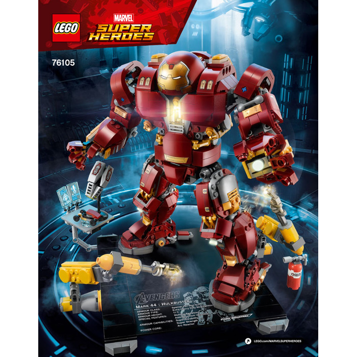 Lego The Hulkbuster Ultron Edition Set 76105 Instructions Brick