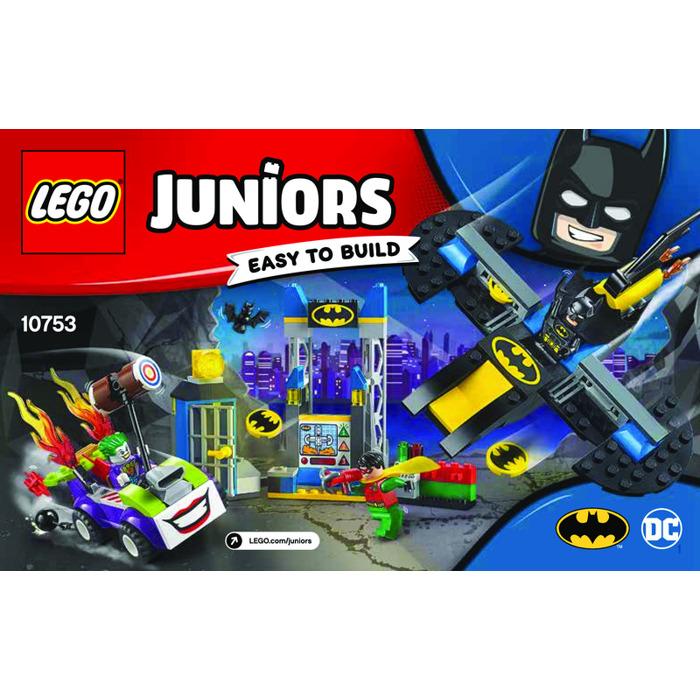 Lego The Joker Batcave Attack Set 10753 Instructions Brick Owl