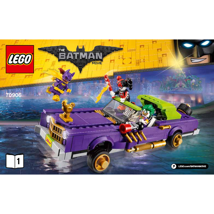 Lego The Joker Notorious Lowrider Set 70906 Instructions Brick Owl