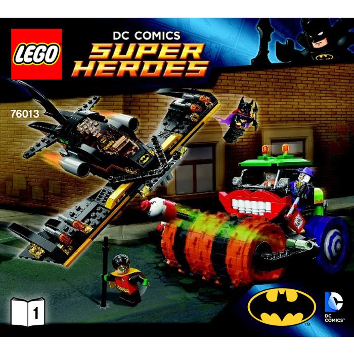 lego the joker steam roller set 76013 instructions brick. Black Bedroom Furniture Sets. Home Design Ideas