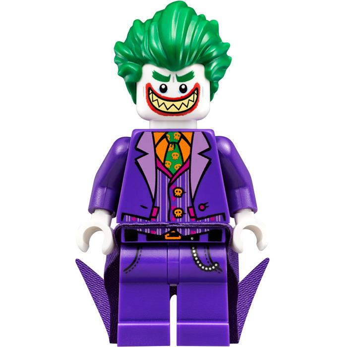 Lego The Joker Wide Grin From Lego Batman Movie