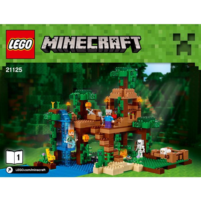 Lego The Jungle Tree House Set 21125 Instructions Brick Owl Lego