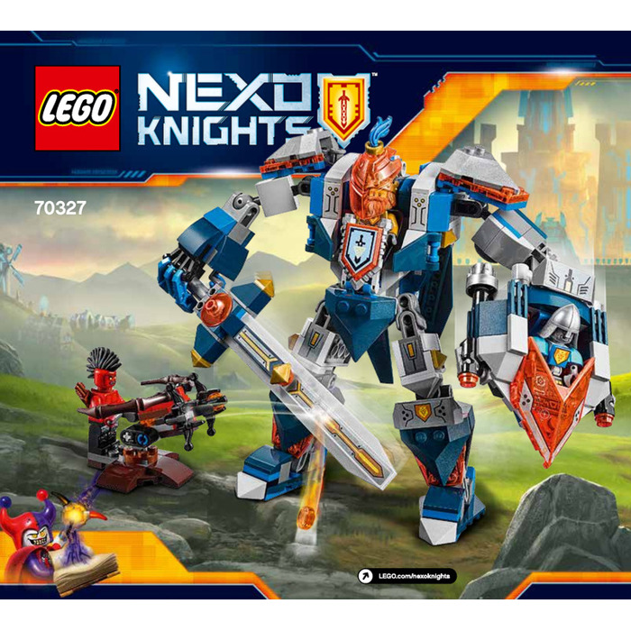 LEGO The King's Mech Set 70327 Instructions
