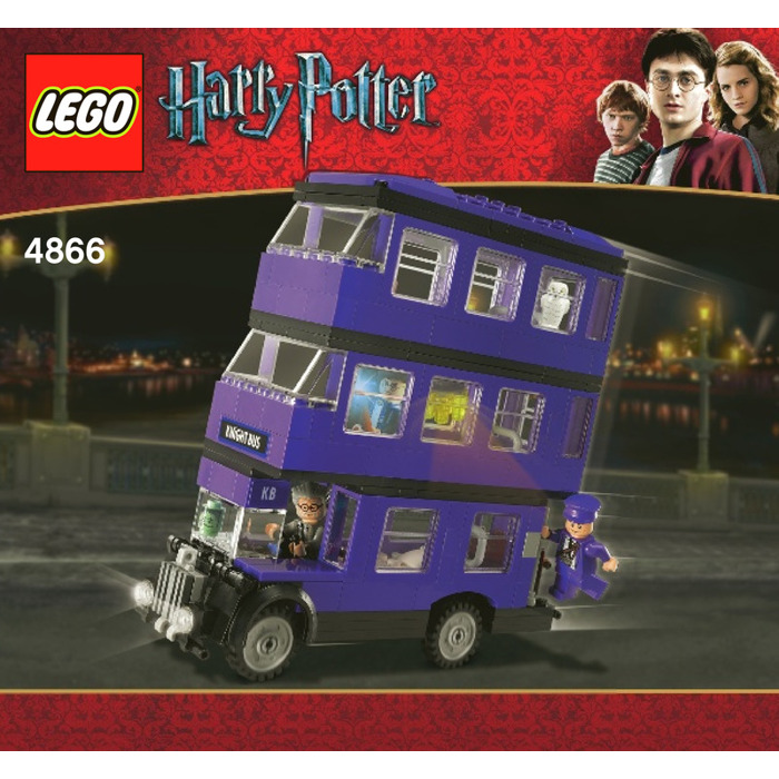 Lego The Knight Bus Set 4866 Instructions Brick Owl Lego Marketplace