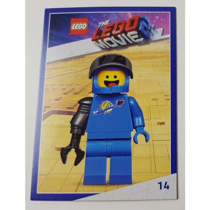 Lego The Lego Movie 2 Card 14 Apocalypse Benny Brick Owl