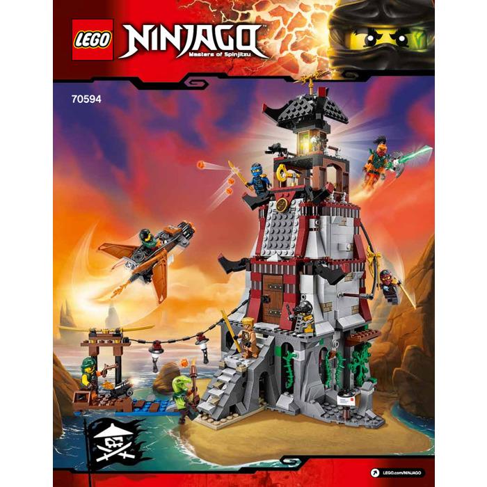 Lego the lighthouse siege set 70594 instructions brick for Siege lego france
