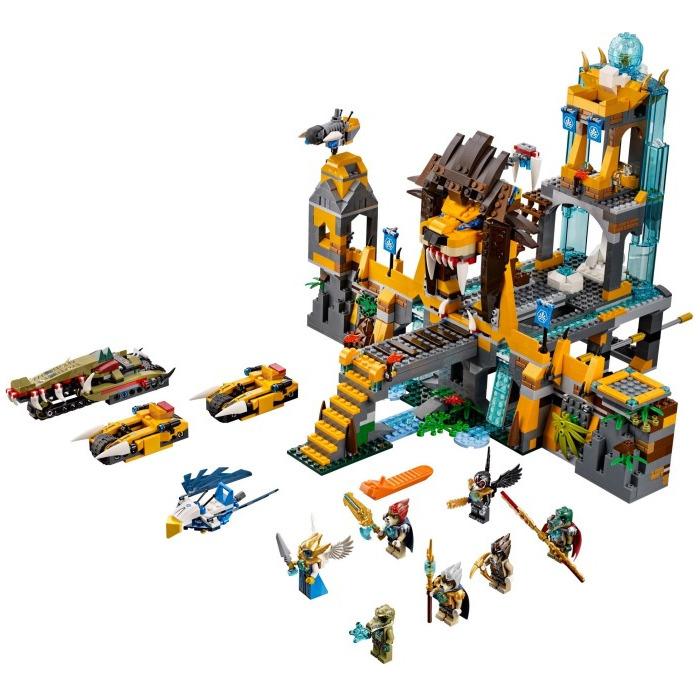 lego the lion chi temple set 70010 brick owl lego
